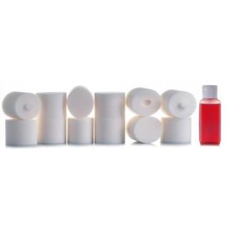 MUGEN MBX-7 filtry včetně 90ml oleje (12ks.)