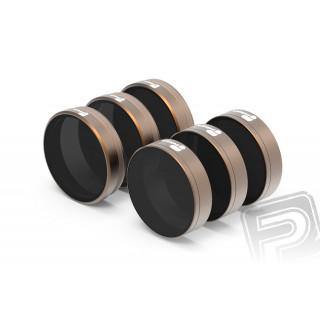 Phantom 4 PRO - sada filtrů (ND4/PL, ND8/PL, ND16/PL, ND32, ND64)