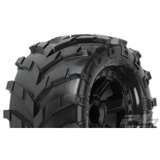 """Masher 2.8"""" (Traxxas Style) Truck guma nalepená na černém disku"""