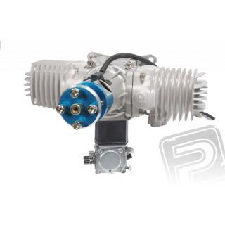 Motor GP 76 ccm V2 včetně tlumiče a příslušenství