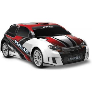 Traxxas Rally 1:18 4WD RTR červené