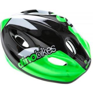 DINO Bikes - Dětská přilba zelená