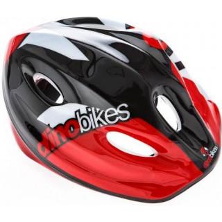DINO Bikes - Dětská přilba červená