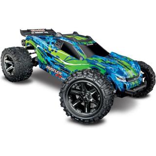 Traxxas Rustler 1:10 VXL 4WD TQi RTR zelený