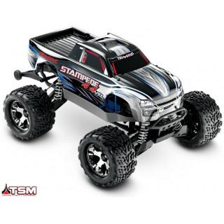 Traxxas Stampede 1:10 VXL 4WD TQi RTR stříbrný