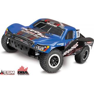 Traxxas Slash 1:10 VXL 4WD OBA TQi RTR modrý