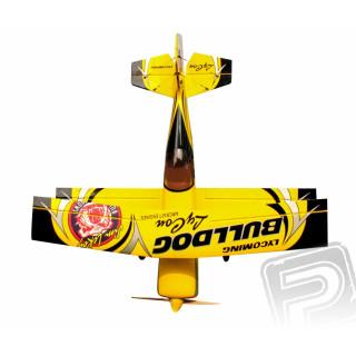 "73"" Pitts Challenger Žlutý Bulldog"