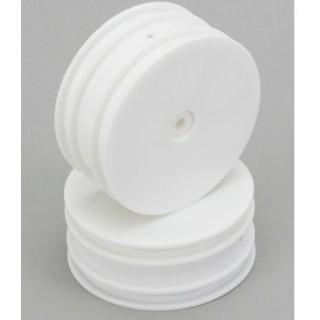 EBG 1:10 - Kola kompletní přední Dish bílé (2)