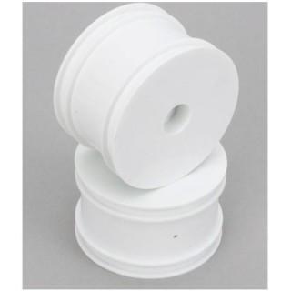 EBG 1:10 - Kola kompletní zadní Dish bílé (2)