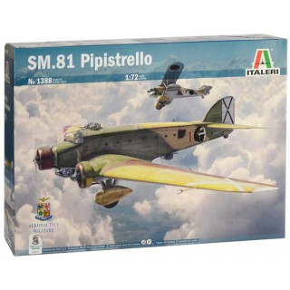 Model Kit letadlo 1388 - SM.81 PIPISTRELLO (1:72)