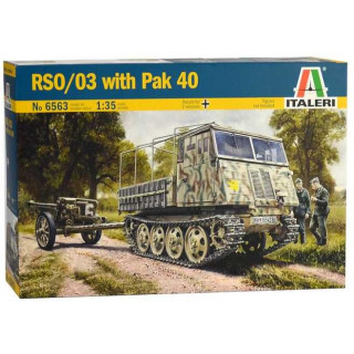 Model Kit military 6563 - RSO/03 with PAK 40 (1:35)
