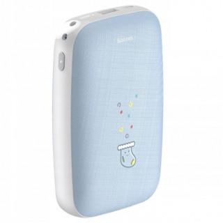 Mini Q Hand Warmer Power Bank 10000mAh (Blue)