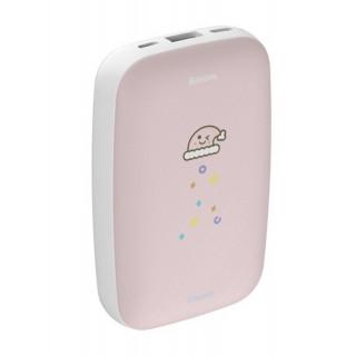 Mini Q Hand Warmer Power Bank 10000mAh (Pink)