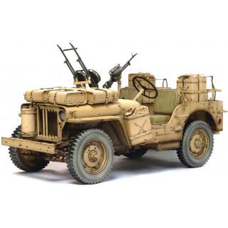 Model Kit military 75038 - SAS 4X4 DESERT RAIDER (1:6)