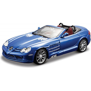 Bburago Plus Mercedes Benz SLR Mclaren 1:32 Roadster modrá
