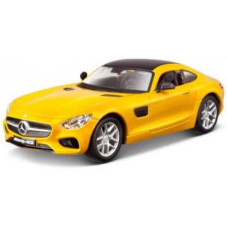 Bburago Plus Mercedes AMG GT 1:32 žlutá