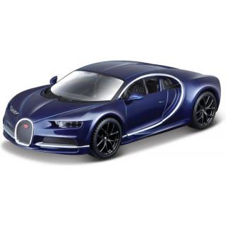 Bburago Plus Bugatti Chiron 1:32 modrá