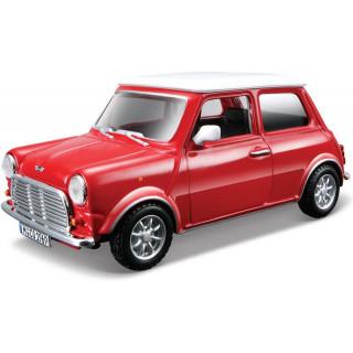 Bburago Mini Cooper 1969 1:32 červená