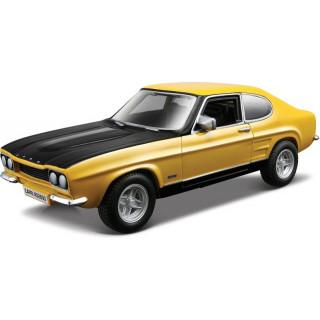 Bburago Ford Capri RS2600 1:32 žlutá