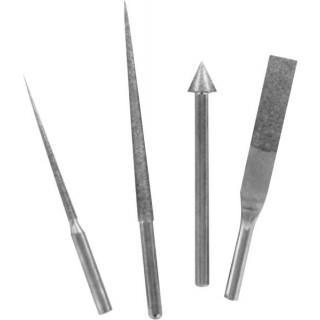Modelcraft diamantové jehlové pilníky (sada 4ks)