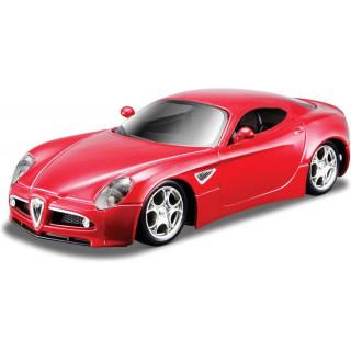 Bburago Alfa 8C Competizione 1:32 červená metalíza