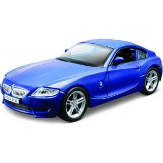 Bburago BMW Z4 M Coupe 1:32 modrá metalíza