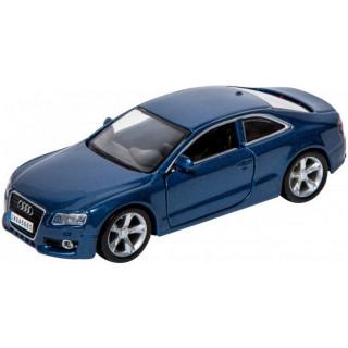 Bburago Audi A5 1:32 modrá metalíza