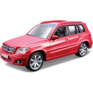 Bburago Mercedes-Benz GLK-Class 1:32 červená