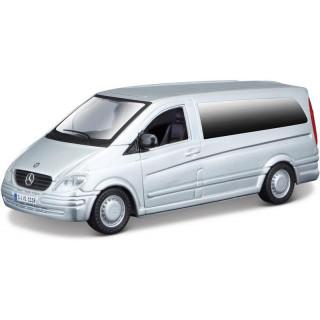 Bburago Mercedes-Benz Vito 1:32 šedá metalíza
