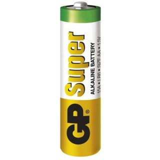 GP SUPER alkalická baterie LR6 (AA) (1ks)