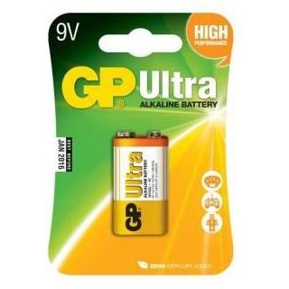 GP ULTRA alkalická baterie 6L22 9V (1ks)