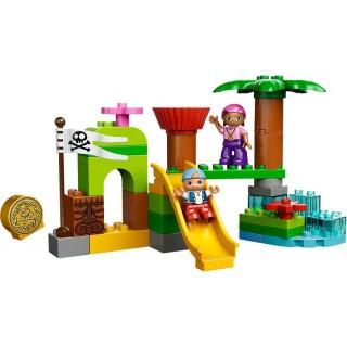 LEGO DUPLO Pirát Jake - Skrýš Země Nezemě
