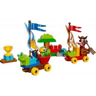 LEGO DUPLO Pirát Jake - Závody na pláži