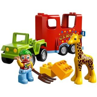 LEGO DUPLO LEGOVILLE - Cirkus na cestách