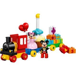 LEGO DUPLO Disney - Mickey a Minnie narozeninový vlak