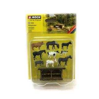 Scénka - Přístřešek pro domácí zvířata