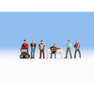 Scénka zvuková - Pouliční muzikanti