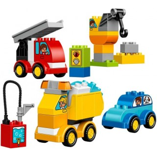 LEGO DUPLO - Moje první autíčka a náklaďáky