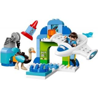 LEGO DUPLO Miles - Milesův hangár pro jeho vesmírnou loď Stellu