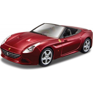 Bburago Kit Ferrari California T 1:43 vínová metalíza