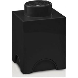 LEGO úložný box 125x125x180mm - černý