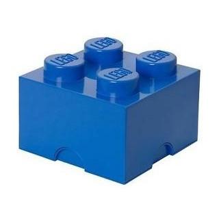 LEGO úložný box 250x250x180mm - modrý