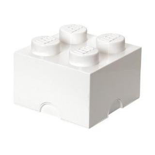 LEGO úložný box 250x250x180mm - bílý
