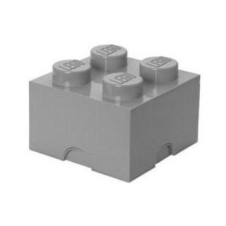 LEGO úložný box 250x250x180mm - šedý