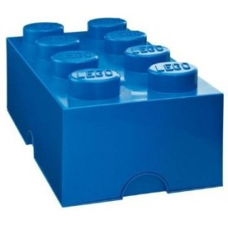 LEGO úložný box 250x500x180mm - modrý