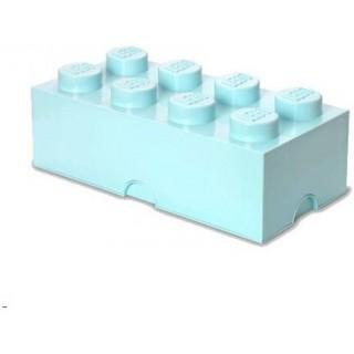 LEGO úložný box 250x500x180mm - aqua