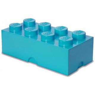 LEGO úložný box 250x500x180mm - azurový