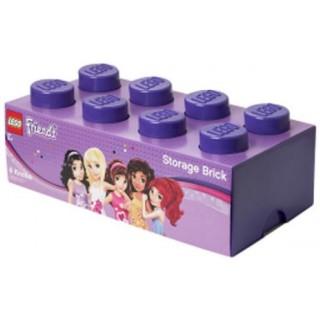 LEGO Friends úložný box 250x500x180mm - fialový