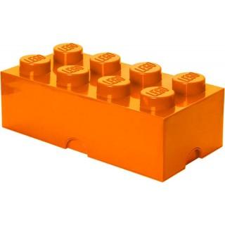 LEGO úložný box 250x500x180mm - oranžový