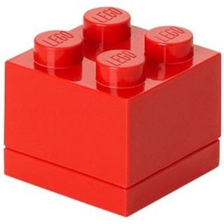 LEGO Mini Box 46x46x43mm - červený